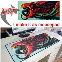 Mairuige 200 cm x 75 cm Black Locking Edge Mouse Pad Game Player Pad Large Game MousePad Keyboard Pad mat