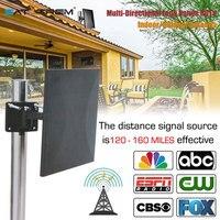 Satxtrem 318A HDTV антенны цифровой 160 миль в диапазоне крытый сигнала Приём с усилителем Booster 360 градусов Приём