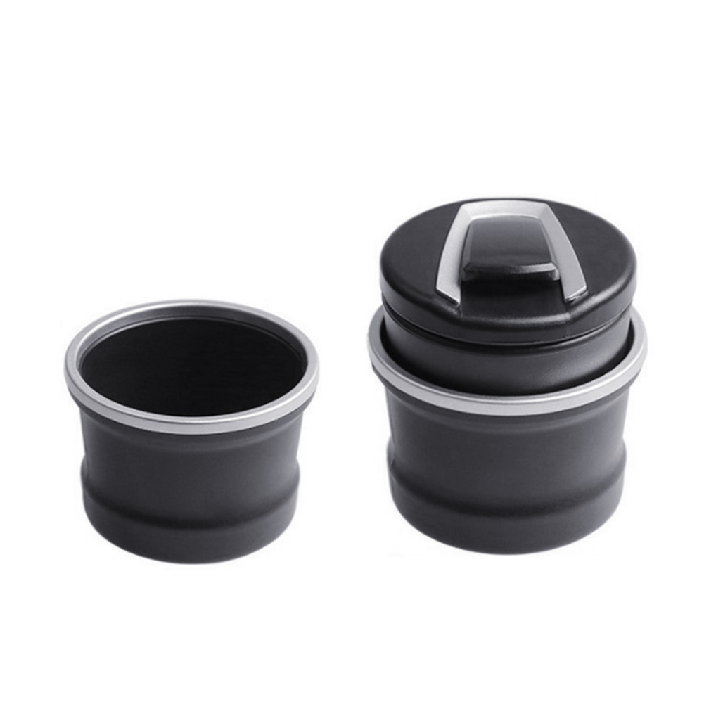 Auto Car Ashtray LED Cigarette Smoke Automotive Multifunction Durable For BMW VS998
