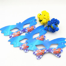 10pcs FabulousParty Paper Mask For Face kidsKid Boy Birthday/Halloween/Christmas Party supplies Decoration