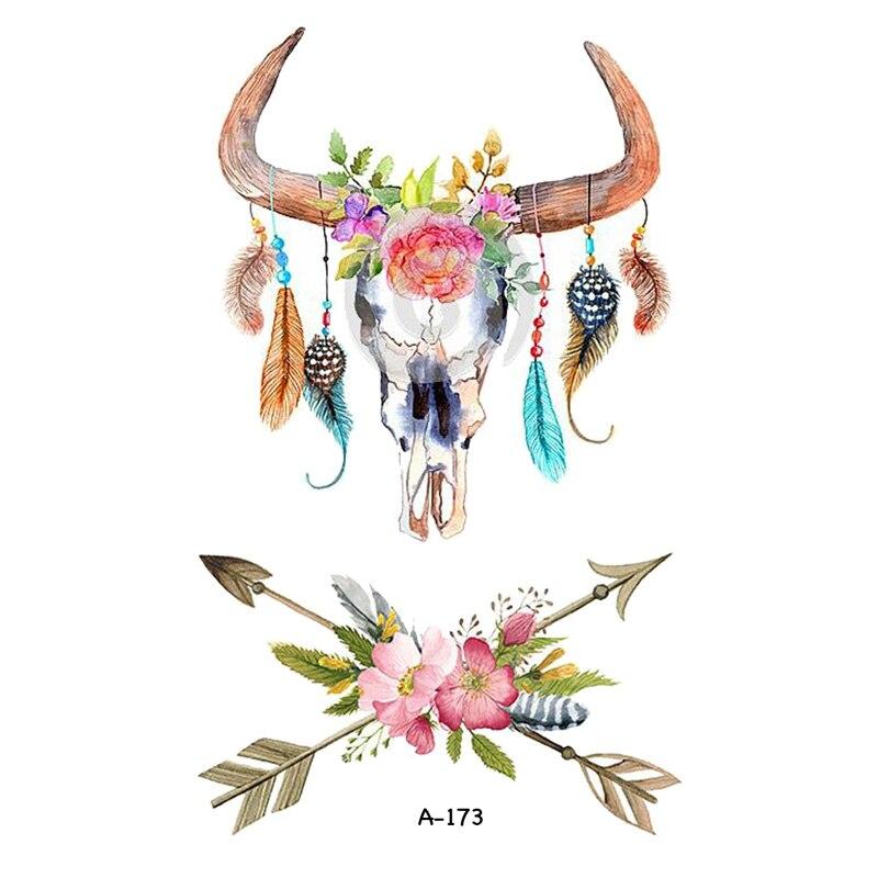 MIGLIOR Fran fans Tatuaggio Temporaneo Per Le Donne Tatuaggio Body Art 9.8X6 cm Mano Impermeabile Falsi Tatoo Sticker