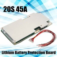 20 String 20S 72V 84V 45A Lithium Li Ion Battery Protection Board BMS Balance D Light