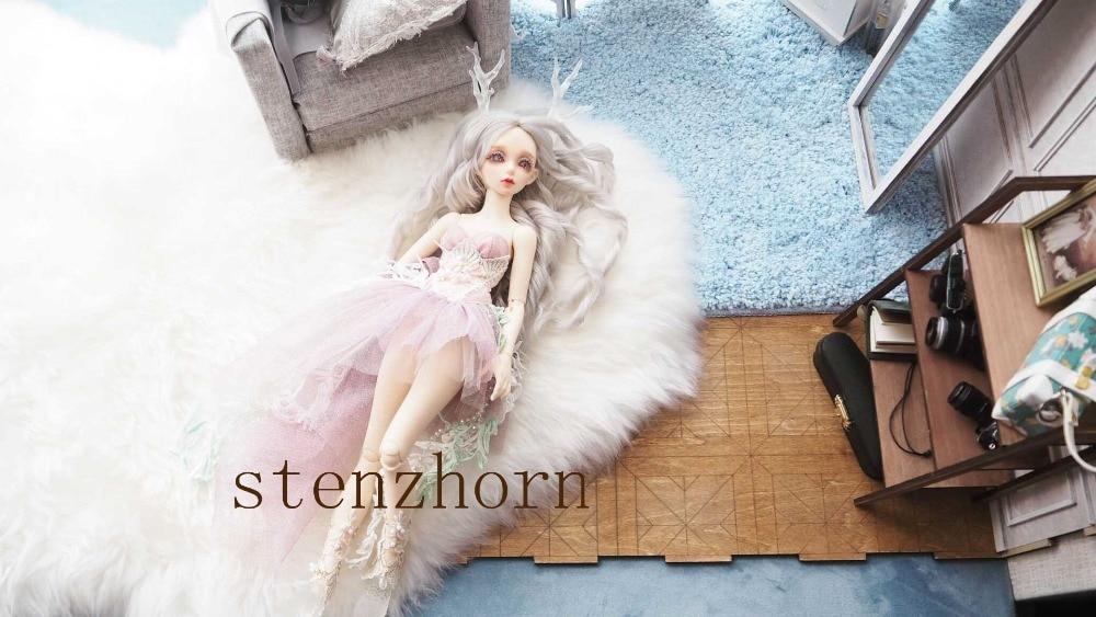 EVa 1/4 vrouwelijke bjd sd vrouwelijke pop geven oogbol gezamenlijke pop gift-in Poppen van Speelgoed & Hobbies op  Groep 3