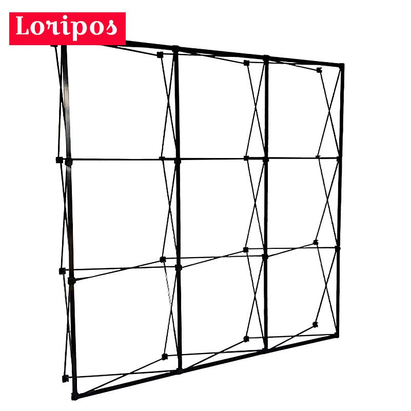 4 Sizes Metal Iron Flower Wall Folding Stand Frame Wedding Backdrop Decor Banner Presentation Advertisement Display Shelf Holder