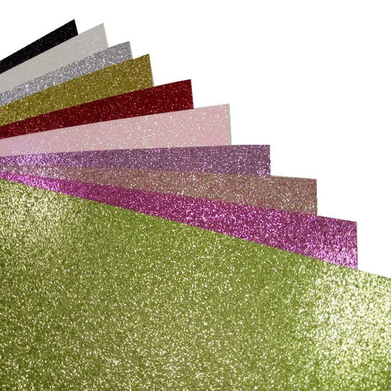 150pcs various color 12 12 inch glitter paper wholesales for christmas decoration