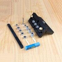 Инструменты для обработки дерева Сделай Сам 3 в 1 скрепление шпонками джиг для мебели быстро ПОДКЛЮЧЕНИЯ Cam установки KF1027