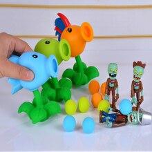 26 стилей новая популярная игра PVZ Растения против Зомби Peashooter ПВХ фигурка модель игрушки 10 см Растения против Зомби игрушки