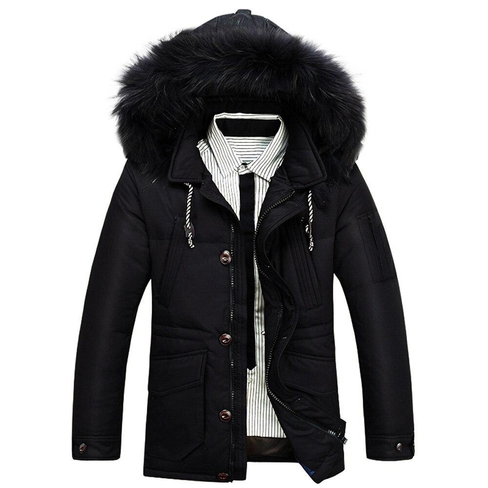 Sales fiery men winter white duck down coat cotton...