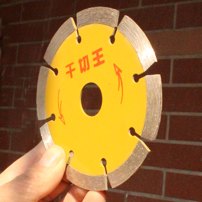 107 109mm Sintered Diamond Dry Cutting Saw Blade Ceramic Tile Stone Cutting Disc Marble Cutoff Wheel Concrete Cutting Blades