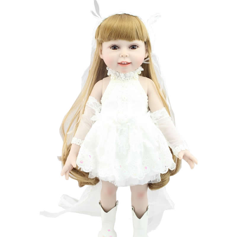 New Fashion American Girl Dolls Dress Clothes For 45cm American Girls Doll 18 Inch Dolls only clothes do not include shoes 1pcs white pink doll fashion dress for 18 inch dolls american girl doll clothes new style