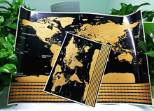 World Scratch Off Map | PERFECT GIFT for any travel Personalized Gift 16.7 x 11.8 With Country Flag For Drop shipping