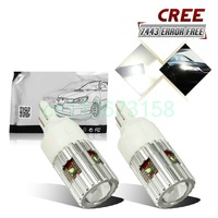Free Shipping 2Pcs Lot Car Styling Car Led Lamp W21 5W Stop Lamp Tail Lamp For