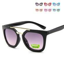 dde142e1798ea Revestimento flexível Crianças Óculos De Sol Da Criança da Segurança Do Bebê  Infantil Óculos de Sol