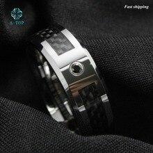 8 мм Черный карбид вольфрама кольцо Мужские украшения обручальные кольца Бесплатная доставка
