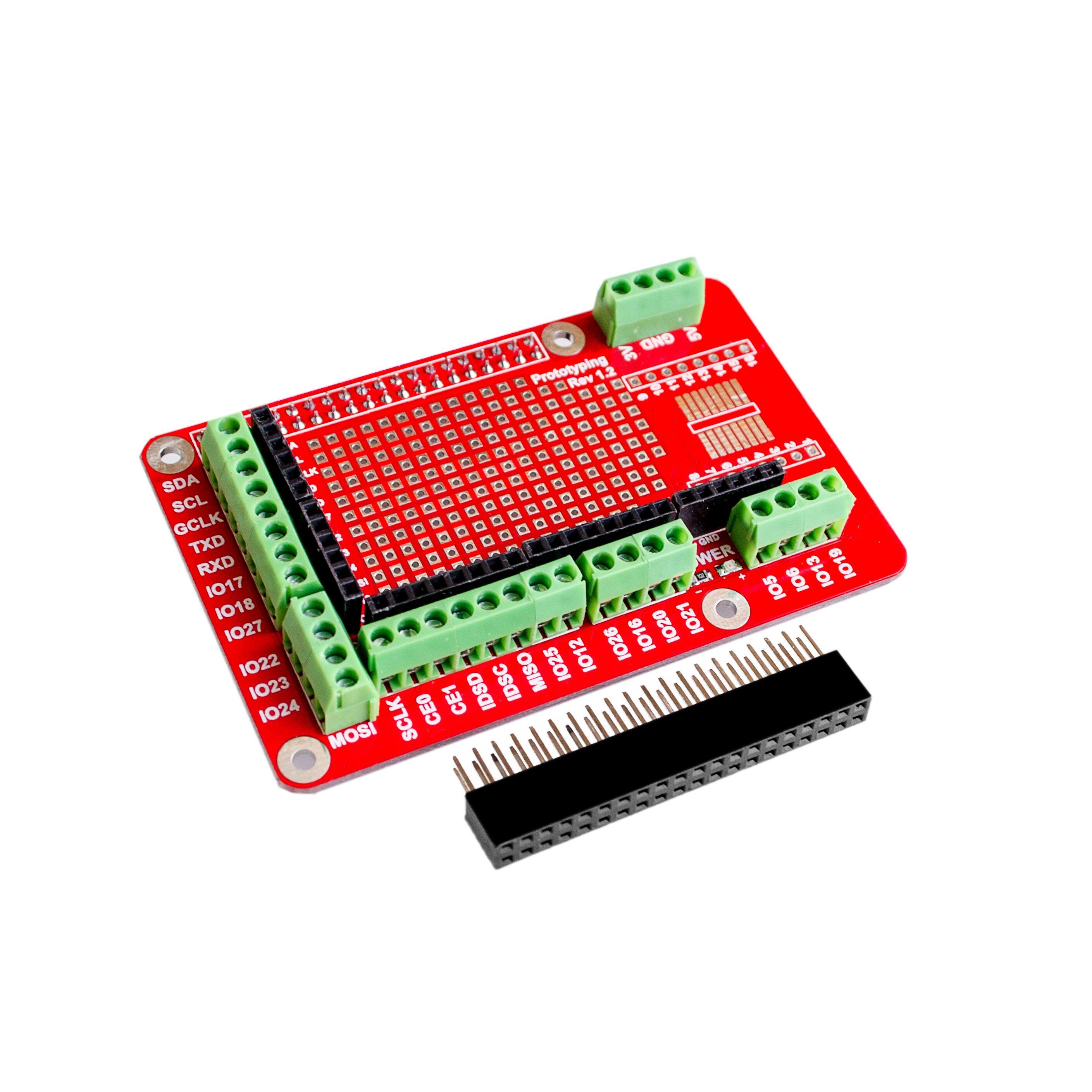 10 pz/lotto di Espansione Prototipazione Shield Consiglio Per Raspberry Pi 2 bordo di B e Raspberry Pi 3 bordo B10 pz/lotto di Espansione Prototipazione Shield Consiglio Per Raspberry Pi 2 bordo di B e Raspberry Pi 3 bordo B