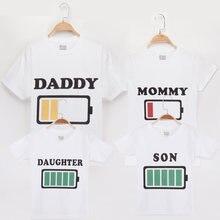 Футболка для всей семьи одежда мамы папы дочки сына с рисунком