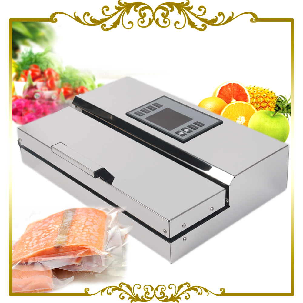 Vacuum Food Sealer Heat Sealing Machine bag Sealer Seal Machine Poly Tubing Plastic Bag Sealing Machine jiqi 100w portable pro smart mini food automatic sealing machine one button vacuum sealer for seal pack opp pe plastic bag