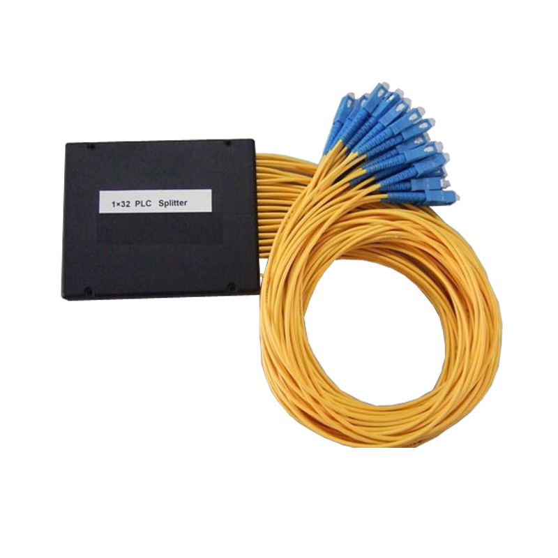 ZHWCOMM High Quality 1M SC 1X32 Fiber Optic splitter box SC/UPC Fiber Optical PLC Splitter Free Shipping