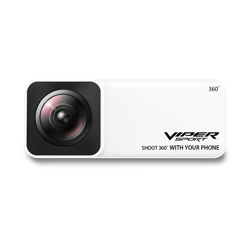 Viper Panoramic Lens 360 Degrees Capturing Camera AR VR Wide Angle Fisheye Lens Panoclip for iPhone X