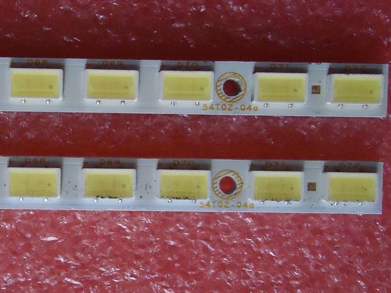 חלקי חילוף לקטנועים עבור TCL L55P11FBDE סעיף מנורה 73.54T02.003-0-SN1 73.54T02.004-0-SN1 1piece = 72LED 615MM (1)