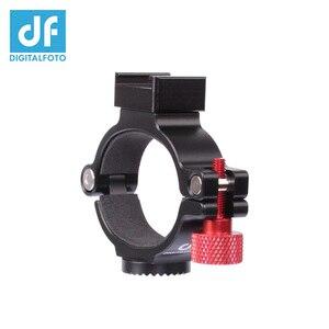 Image 4 - DF DIGITALFOTO Ant O Ring DJI OSMO Mobile 2 Mobie 3 gimbal 마운팅 마이크/LED 라이트/모니터 용 핫/콜드 슈 어댑터