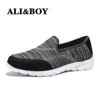 ALIBOY Women Running Shoes Ladies Sports Slip On Super Light Mesh Breathable Sport Women S Sneakers