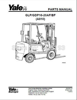 New Yale Spare Parts PDF 2017 for EURO