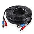 ANNKE 30 M 100ft CCTV Cable BNC + DC Plug Cable Para CCTV Cámara AHD DVR Sistema de Vigilancia de Seguridad Negro accesorios