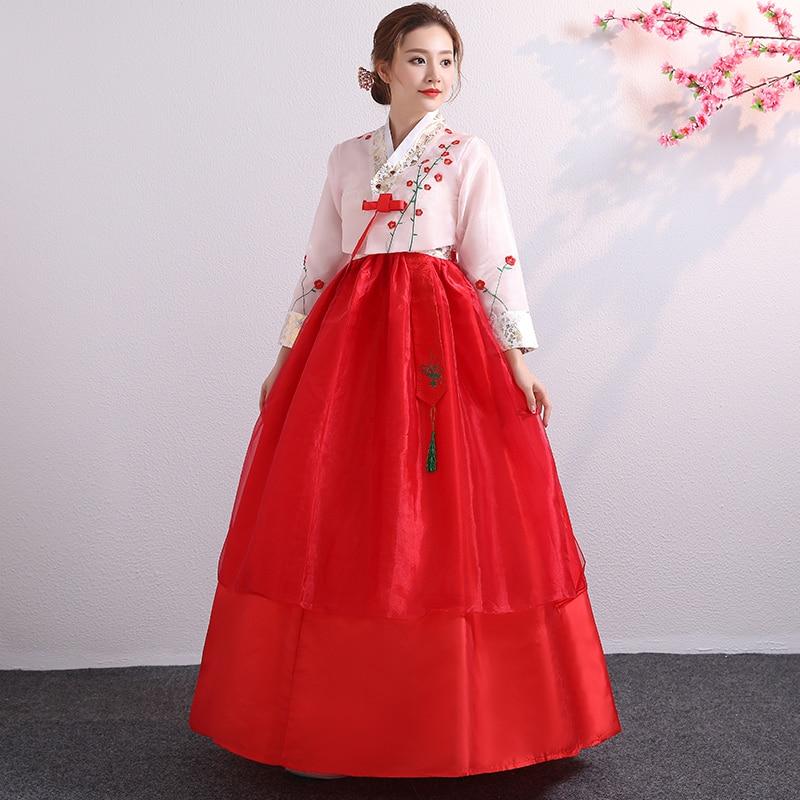 afa88ddbc10d Korean Hanbok Traditional Performance Costumes For Women Elegant Hanbok  Palace Korea Wedding Oriantal Dance Costume