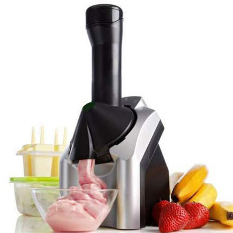 Glantop DIY Fruit Ice Cream Machine Smoothies Machine Automatic Household ice Slush Maker Fruit Smoothie Maker English Manual edtid ice cream machine household automatic children fruit ice cream ice cream machine barrel cone machine
