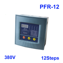 JKW58 PFR-12 коэффициент мощности 380 v 12 шагов 50/60Hz реактивной мощности Автоматическая компенсация контроллер конденсатор с алюминиевой крышкой для 50/60 HZ