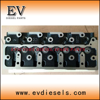 New 4D84E 4TNE84 4D88 4TNE88 cylinder head include valve for Yanmar VIO85 excavator