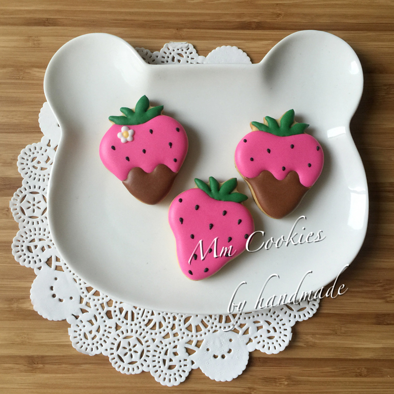 1pcs Strawberry fruit cookie cutter Patisserie gateau biscuit metal mold cupcake candy pastry