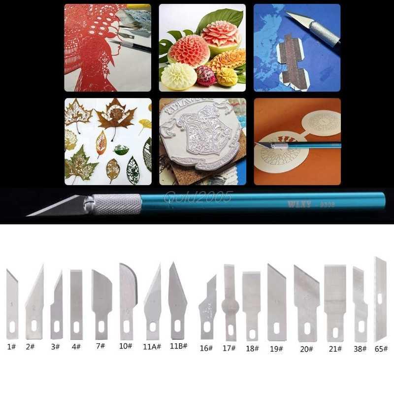 5Pcs Bisturi Riparazione Del Telefono Multifunzione Lama di Taglio di Carta Lama Di Ricambio