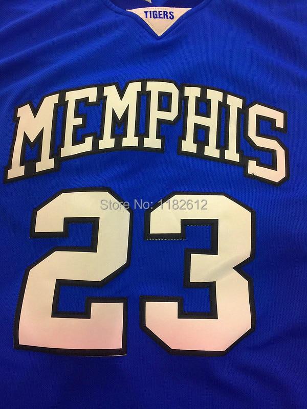 premium selection eb36b 2e8cb Derrick Rose Jersey Cheap NCAA Memphis Tigers 23 Derrick ...