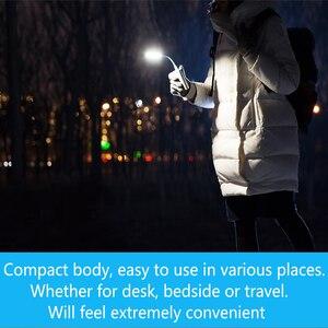 Image 3 - 2 pièces/lot Original Xiaomi USB lumière LED avec interrupteur 5 niveaux luminosité USB pour batterie dalimentation/ordinateur Portable Portable, lumières LED portables