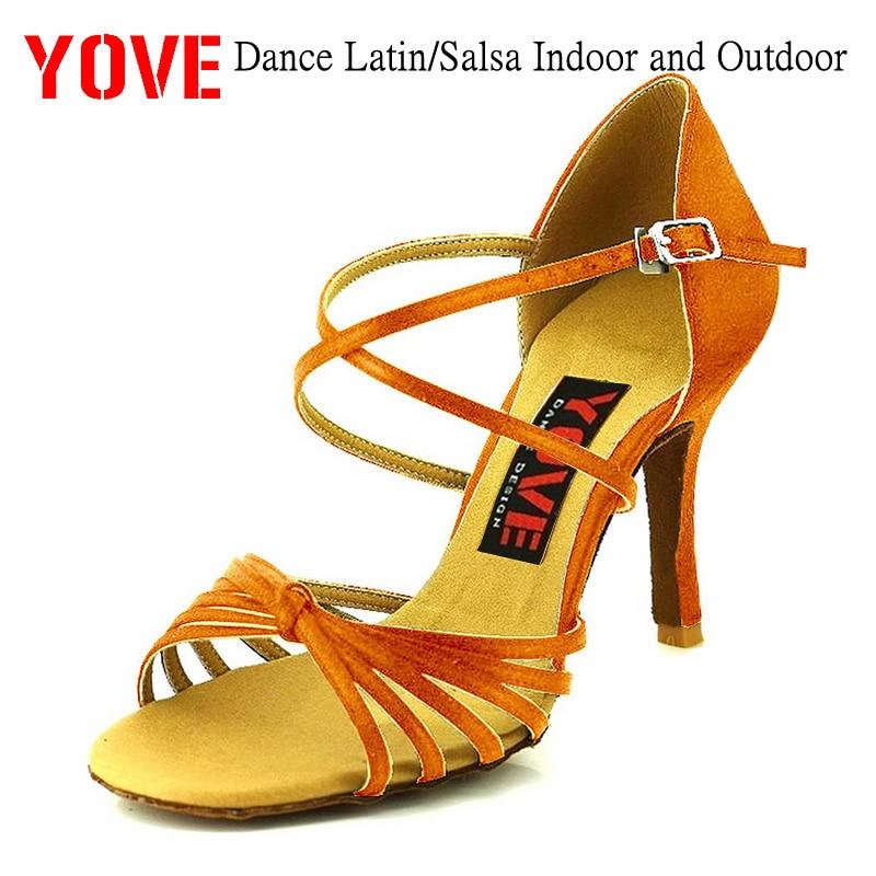 사랑 스타일 w167-1 댄스 신발 바차타 / 살사 실내 및 - 운동화