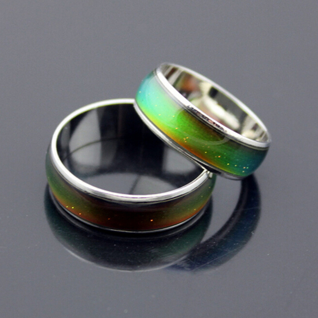 Mix Size 20 Pieces Women S Ring Magic Color Engagement Rings Party Jewelry Christmas Spinning Mood