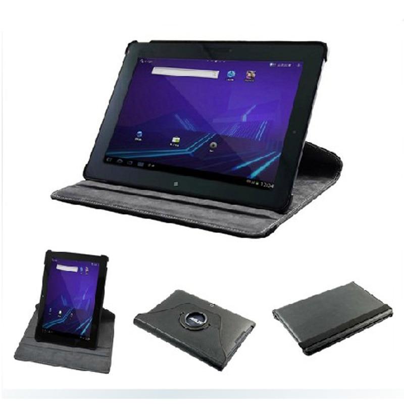 Roterende 360 graden luxe folio stand leather case beschermhoes voor asus memo pad smart 10 me301t me301 k001 10.1 'Tablet