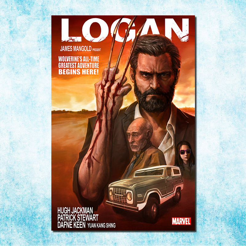 The Wolverine Movie Art Silk Poster 13x20 24x36 inch