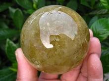 WBY 902 + + + натуральный цитрин кварца хрустальный шар исцеления