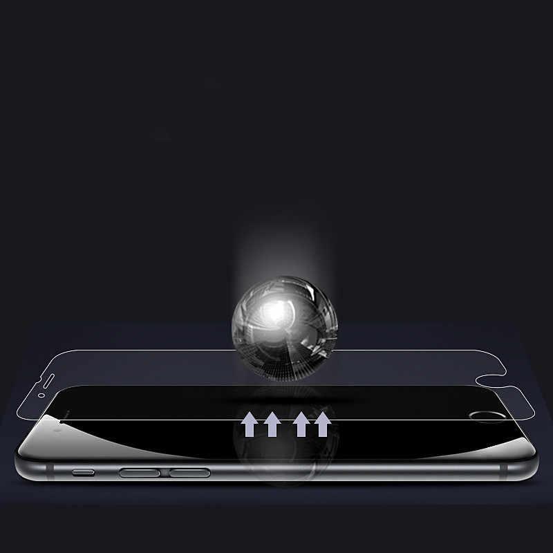 طبقة حماية لسامسونج غالاكسي S10 s9 Plus S7 S6 حامي شاشة بحافة ناتئة لسامسونج S10 زائد نوت 8 S8 حماية لينة فيلم