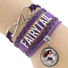 Fairy Tail Natsu Lucy Erza Scarlet Guild Wrist Bracelet