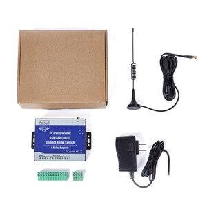 Image 5 - GSM מרחוק ממסר מתג SMS מעורר שליטה על ידי SMS APP טיימר לרחוב אור משאבת שליטה עם 8 יציאות ממסר RTU5022