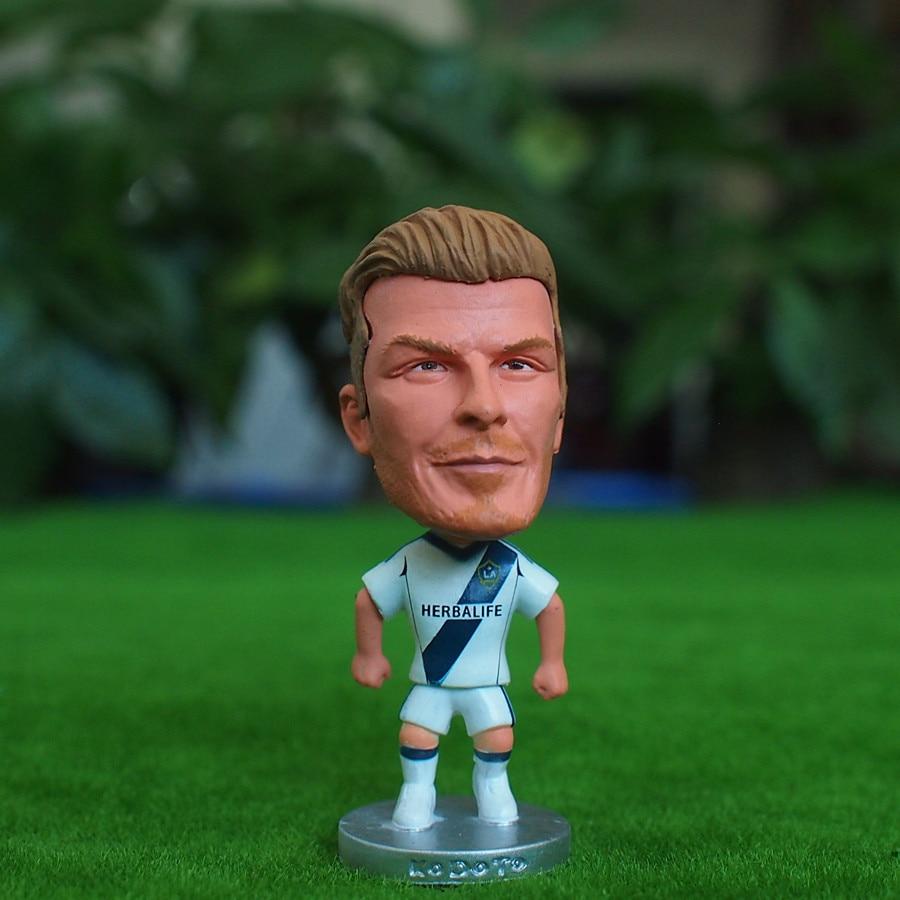Soccer Star 23# BECKHAM (LA-Classic) 2.5 Action Dolls Figurine