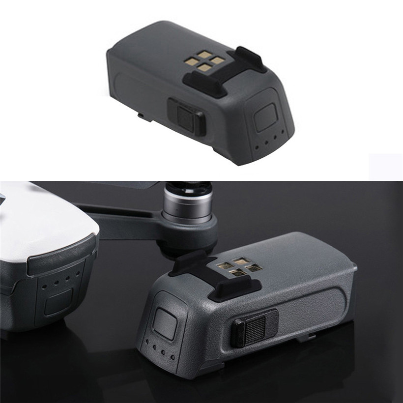 New 2017 1PCS Intelligent Flight Battery 1480 mAh 16mins Flight Time For DJI SPARK Drone drop shipping 0619 original dji spark battery charging hub intelligent flight battery charger for dji spark