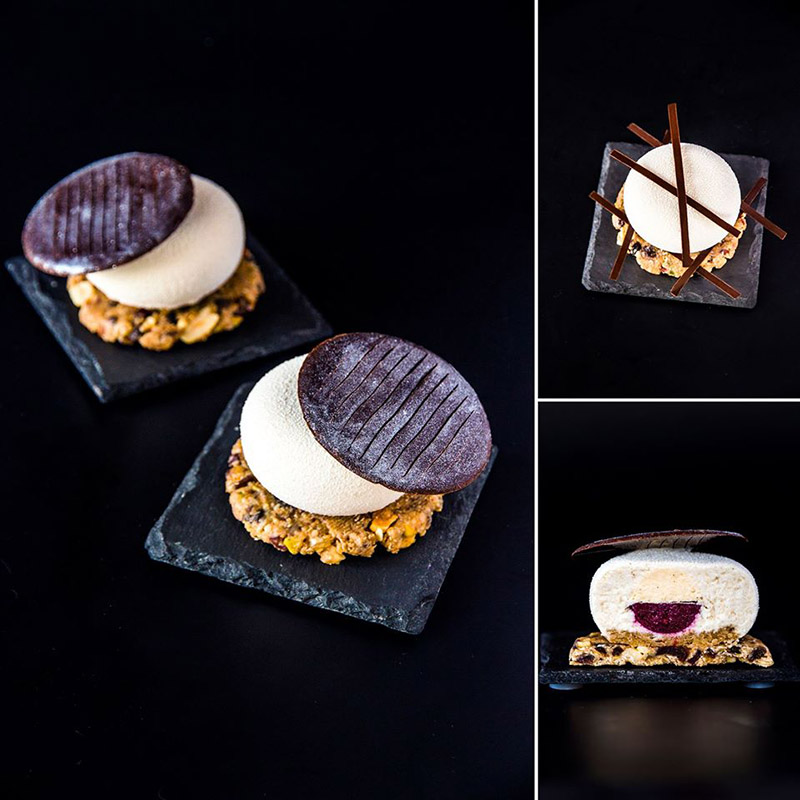 Silicone Mold Globe Stone Shape Mould For Chocolate Mignon Tiramisu Caramel Bavaroise Truffle Mousse Monoportions Cake Tools in Cake Molds from Home Garden