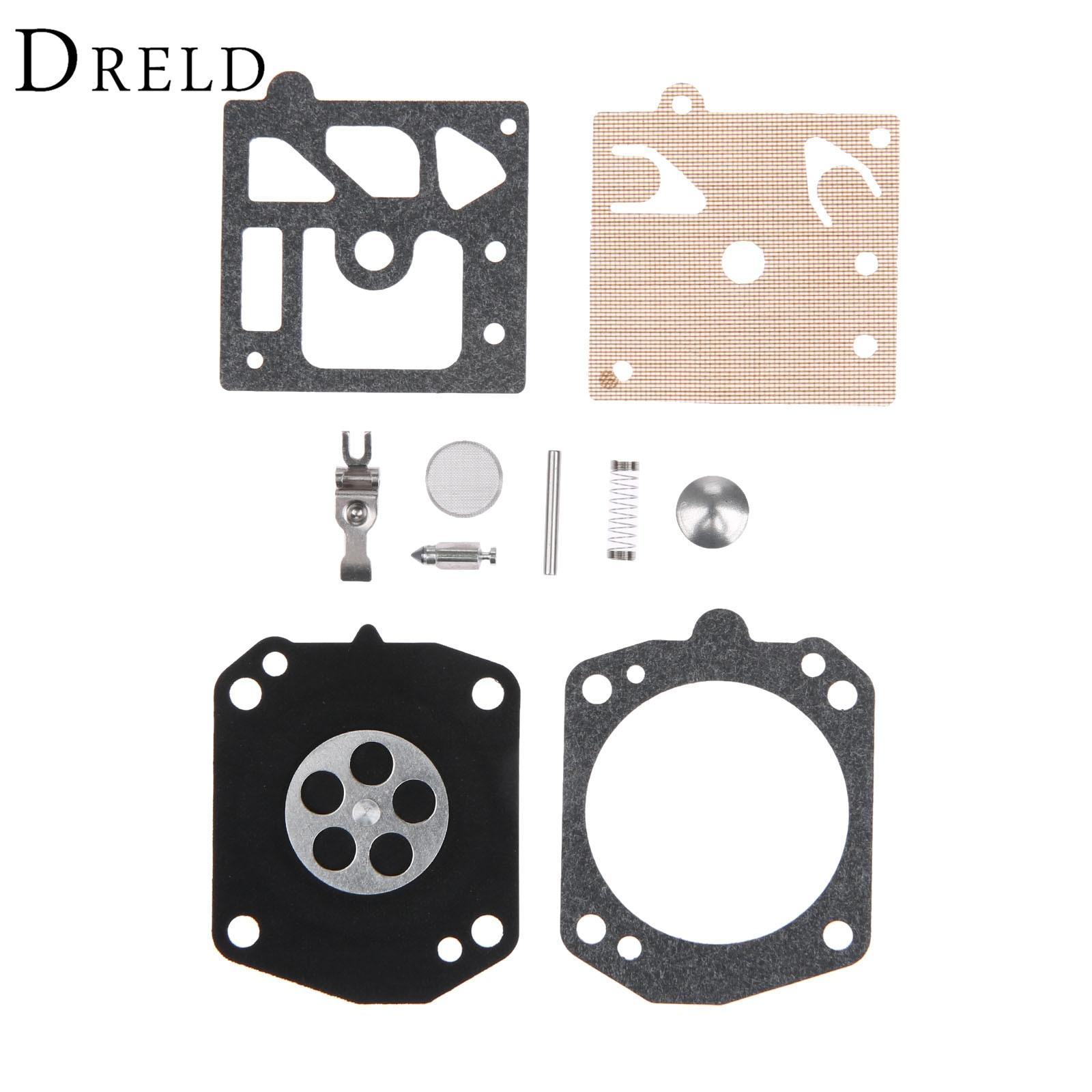 DRELD K10-HD Carburetor Carb Repair Rebuild Kit For Stihl Walbro 029 310 044 046 MS270 MS280 MS290 MS290 MS341 MS361 Chainsaw