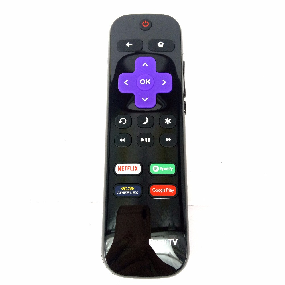 New Original LC-RCRCA-18 for SHARP Roku LCD TV's Remote control Netflix Spotify cineplex goole paly image