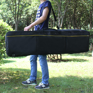 Image 2 - 61 76 88 Key Thickened Instrument Keyboard Electronic Piano Bag Cover Case For Electronic Piano